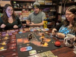 Boss fight! Final battle in scenario 22 in Gloomhaven