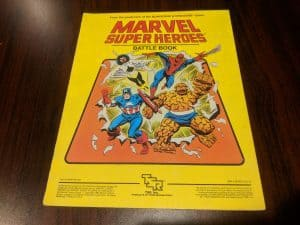 TSR Marvel Super Heroes Battle Book