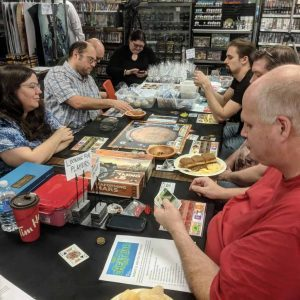Terraforming Mars being played at Extra Life