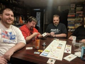 Five player Tokadio with the Crossroads Expansion.
