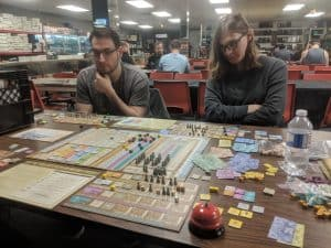 Four player Arkwright at The CG Realm a FLGS