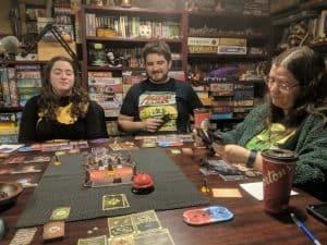 Four player Gloomhaven. Scenario 21