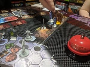 Random Dungeon rules for Gloomhaven being tried out for the first time.