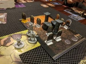 Gloomhaven looking great with the addition of Mage Knight scenery.