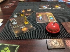 Gloomhaven two players using the random dungeon rules.