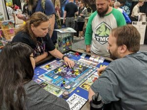 Origins 2017, Chimera Station from TMG being taught.