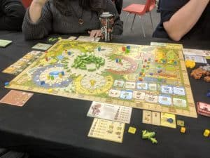 Four player game of Tzolkin The Mayan Calendar at The CG Realm