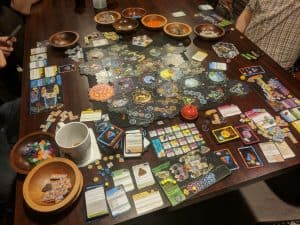 Xia The End - Sandbox Sci-Fi in Xia, the Gloomhaven Campaign Resumes, Sintra, and Four Kids Games. - Tabletop Gaming Weekly