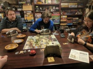 Five player board game Builders of Blankenburg