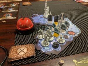 Gloomhaven Scenario 14 Frozen Hollow Room 1