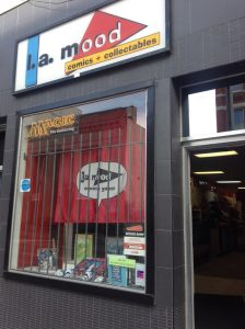 The storefront for L.A. Mood in London Ontario