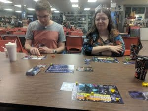 Playing Master of Orion at the FLGS