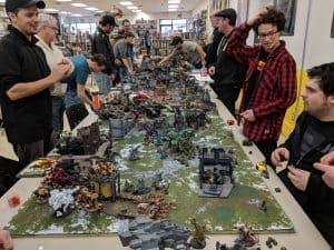 A massive Warhammer 40,000 tournament.