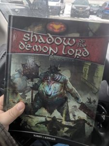 Shadow of the Demon Lord RPG Cover