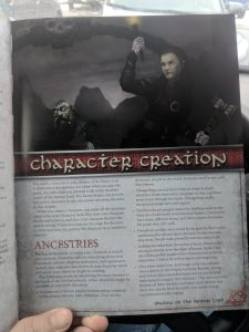 Shadow of the Demon Lord - Chapter 1 Character Creation