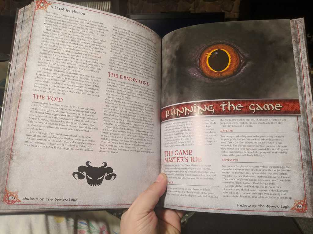 Shadow of the Demon Lord Review - RPG a Month for February