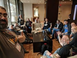 A great group of gamers at Breakout Con