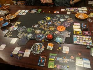 Full table shot of Xia Legends of a Drift System.