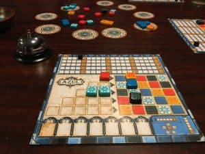 Azul is a great light board game, perfect for starting off a game night.