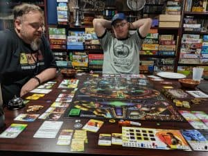 The cooperative board game Big Trouble in Little China