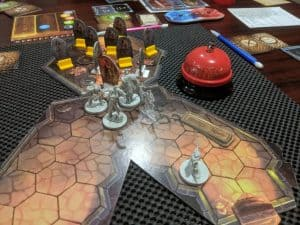 Gloomhaven Scenario $20, Room 3 and Boss Fight