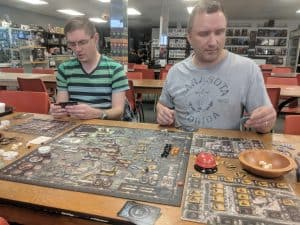 My first play of the board game Brass Birmingham, an update to the Martin Wallace classic.