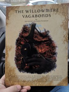 The cover of The Willowmere Vagabonds