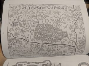 The Willowmere Vagabonds - The Willowmere Wilderness Map