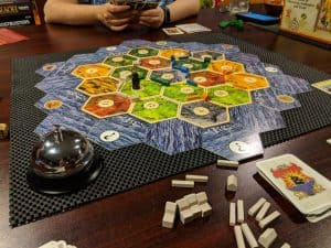 Settlers of Catan - the quintessential Eurogame.