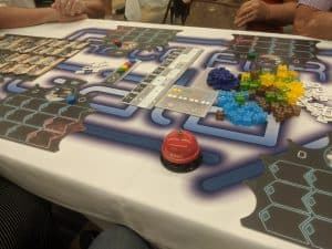 New Frontiers the Race for the Galaxy Board Game.