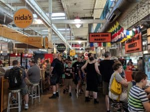 The biggest hidden gem of the Origins gaming convention is the North Market across the street from the convention center.