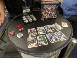 Robotech Ace Pilot is a rather solid quick filler dice game.