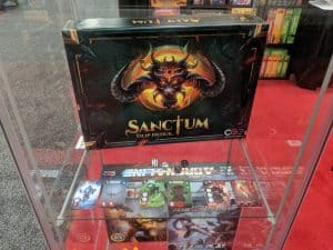 Sanctum from CGE promises to be a board game version of Diablo.