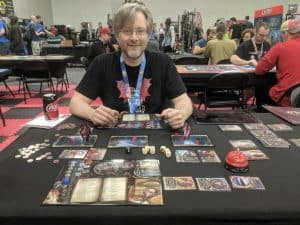 Getting a Demo of Sorcerer from Rob from White Wizard Games