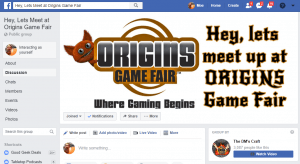 Social media is a great place to find out about off the books events at cons.