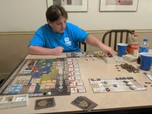 Gentes is a great civilization building board game from Tasty Minstrel Games.
