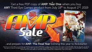 AMP SALE - The DriveThru RPG Christmas in July Roleplaying Game Sale is Live!