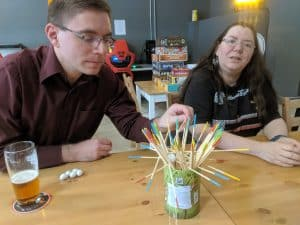 Go Cuckoo from Haba still proves to be very popular with adults, especially if there is beer involved.