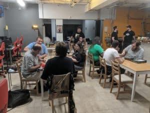 EZY Mode Esports Lounge isn't just about video games. Twice a month they host a tabletop game night.