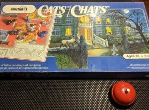The classic board game Cats, better known as Cats Mansion in the US.