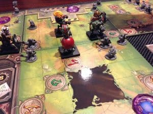 Mechs Vs. Minions has some of the best component quality you will find in a tabletop game.