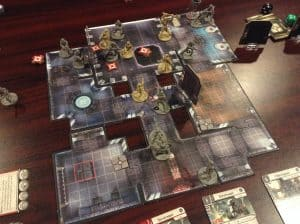 A picture of the board game Star Wars Imperial Assault.