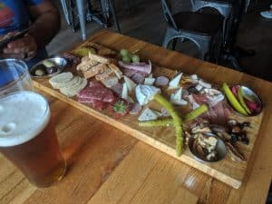 One of the many Charcuterie boards from The Sandwich Brewing Co.