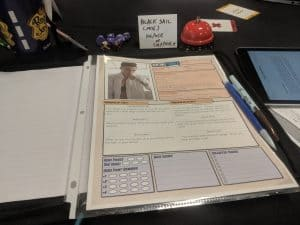 Sentinel Comics Character - GM Tips for Running a One-Shot Role Playing Game in Public - Ask The Bellhop