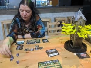 We played Tower of Madness two player and it worked.