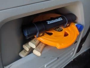 Zenteeko is a board game you put in your vehicle and bring with you everywhere.