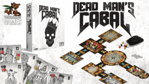 Dead Man's Cabal Logo from the Kickstarter