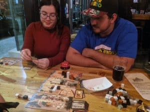 Imhotep deciding on cards - First plays of Zombicide: Invader and Imhotep. Giving Lotus Another Shot and Eminent Domain -  Tabletop Gaming Weekly