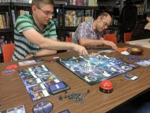 Tyrants of the Underdark being played at a FLGS