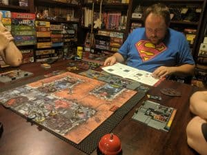 Learning to play the cooperative board game Zombicide: Invader